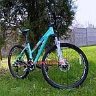 """Горный велосипед Winner Alpina 27.5 дюймов 15"""" голубой, фото 3"""