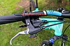 """Горный велосипед Winner Alpina 27.5 дюймов 15"""" голубой, фото 4"""