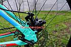 """Горный велосипед Winner Alpina 27.5 дюймов 15"""" голубой, фото 8"""