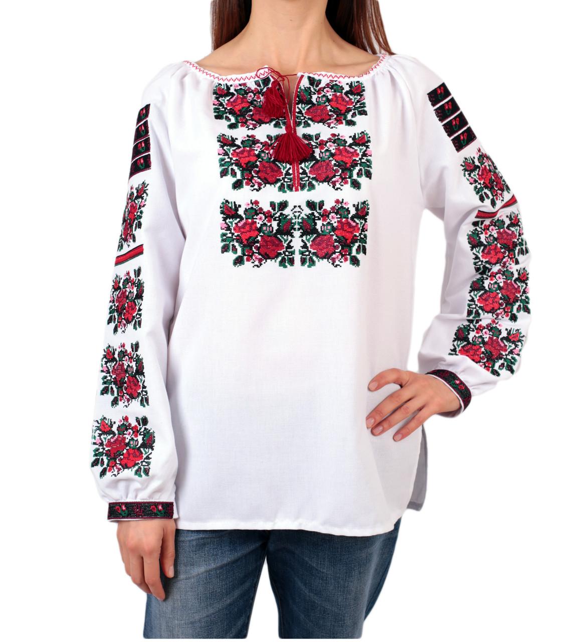 Жіноча вишиванка з машинною вишивкою недорого - Інтернет-магазин вишиванок  для всієї сім ї 5c51d0948bc61