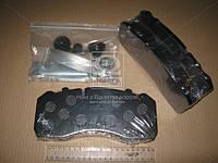 Колодка тормозная дисковая (комплект на ось) STANDARD BPW, IVECO, MAN 2000,TGM, Mercedes-Benz (MB) ATEGO, SAF (RIDER) (арт. RD 29095STD), AFHZX