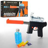 Автомат M206C, 36-14см, водяные пули, пули-прис.3шт, в кор-ке, 37-17, 5-5, 5см