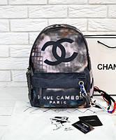 Рюкзак CHANEL Graffiti Printed Canvas Backpack (9704), фото 1