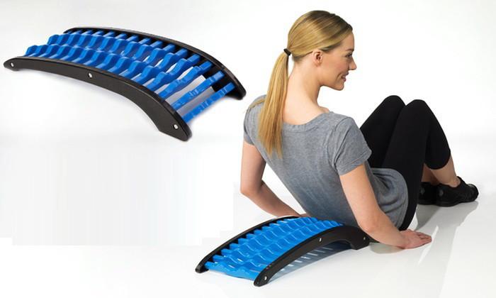 """Ортопедический тракционный (вытягивающий) тренажер для спины """"Сильная спина"""" горка Орлова"""