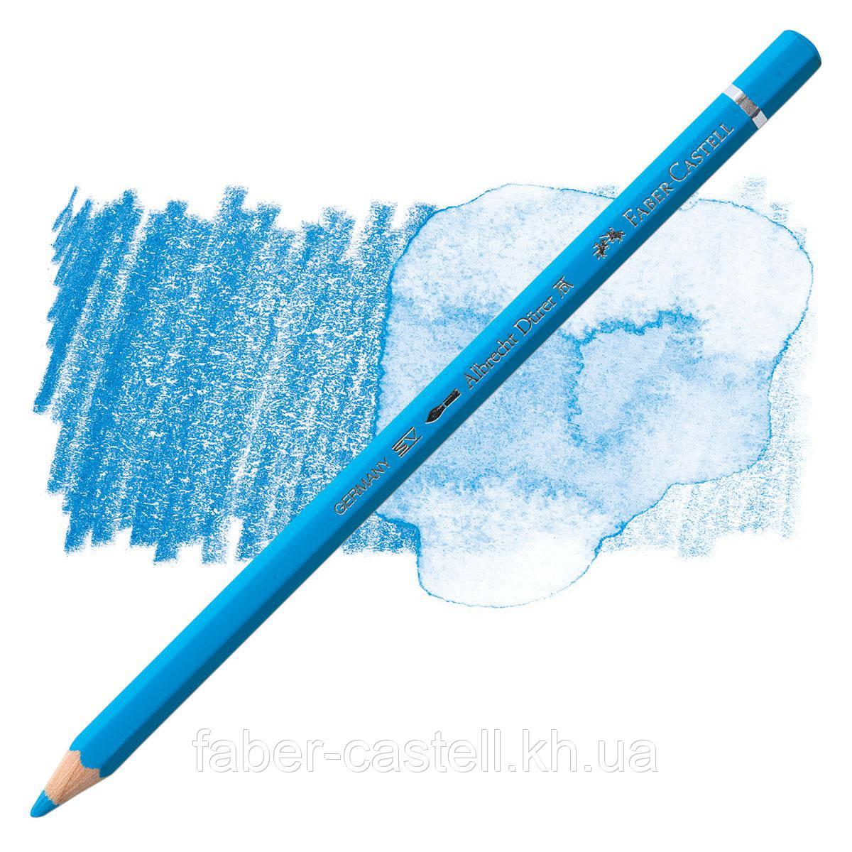 Карандаш акварельный цветной Faber-Castell A. Dürer  светло-синий (Light Phthalo Blue)  №145, 117645
