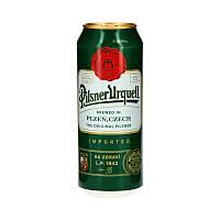 Пиво Pilsner Urquell светлое 4,4% ж/б 0.5л