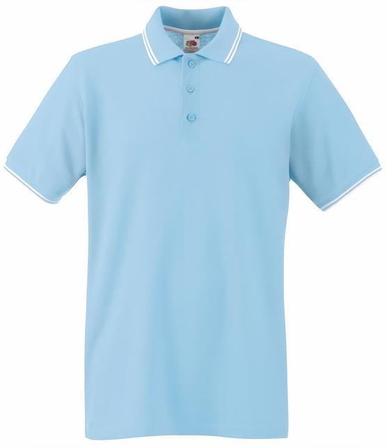 Мужская футболка Поло Premium Tipped
