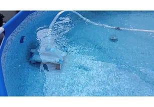 Intex 28001, автоматический очиститель для бассейнов донный пылесос, фото 3