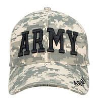 Бейсболка  DELUXE LOW PROFILE CAP ACU DIGITAL - ARMY ROTHCO