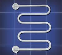 Полотенцесушитель электрический поворотный ПСП-1 белый, 60Вт