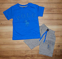 Детские костюмы для мальчика Поло-стайл 1-2 лет