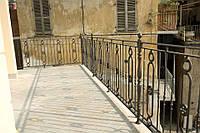 Ограждение балконов и террас из литого чугуна