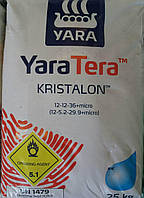 Удобрение Яра Кристалон 12.12.36 красный 25 кг Норвегия