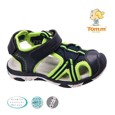 447141a19 Стильные спортивные босоножки для мальчика Том.м: продажа, цена в Днепре.  летняя детская и подростковая обувь от