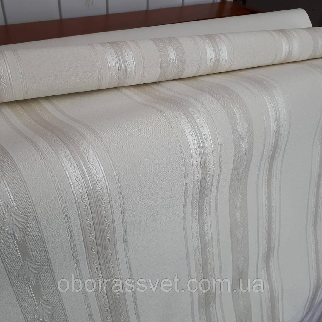 Обои Шарман 2 8531-05винил горячего тиснения длина рулона 15 м ширина 1.06 м=5 полос по 3 м каждая
