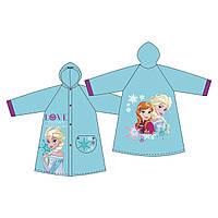 Плащ-дождевик 6-8 лет Холодное сердце /Frozen для девочек ТМ ARDITEX WD9782 голубой