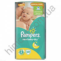 Подгузники «Pampers Active Baby-Dry 2» (3-6кг) 68шт