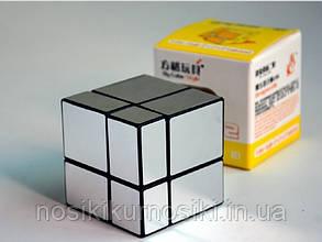 Кубик Рубіка 2*2 Mir - two cube Дзеркальний куб - срібло