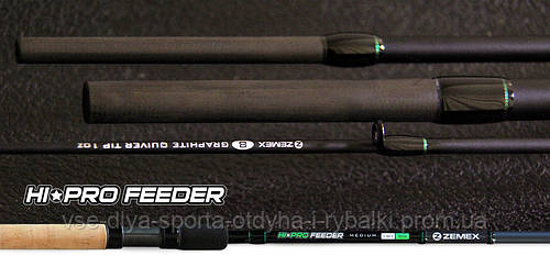 Удилище фидерное ZEMEX HI-PRO FEEDER 11 ft до 60,0 гр.