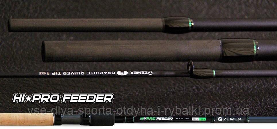 Удилище фидерное ZEMEX HI-PRO FEEDER 13 ft до 90,0 гр.