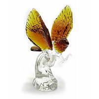 Орел хрустальный цветной (21см) , Изделия из хрусталя