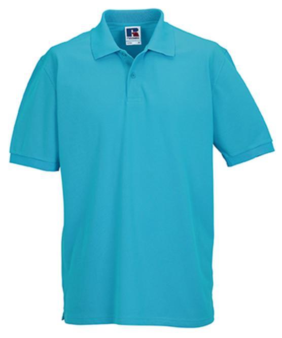 Мужская футболка Поло Russell Classic Cotton