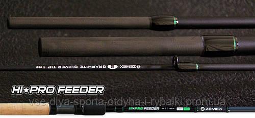 Удилище фидерное ZEMEX HI-PRO FEEDER 13 ft до 150,0 гр.