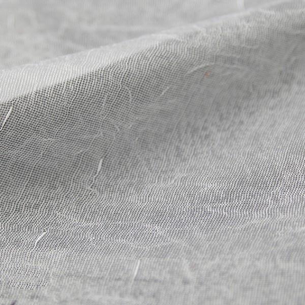 Тюль жатый сетчатый белый 0121-001 BE001(CRUSH)