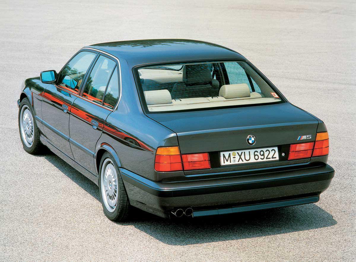 Заднее стекло (ляда) BMW 5 (E34) (1988-1996), Седан, с антенной для радио