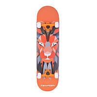 Скейтборд с рисунком тигра оранжевыйTempish LION Orange