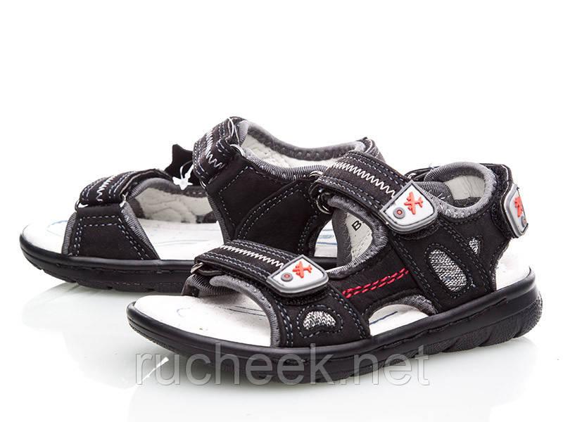 Кожаные босоножки сандалии для мальчиков, р-ры 28, 29, ТМ EEBB 9065, Реплика моделей ECCO