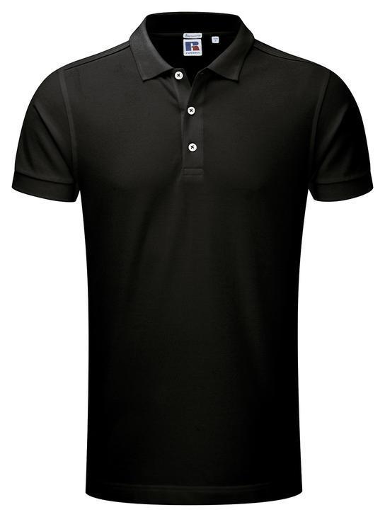Мужская футболка Поло Russell Stretch