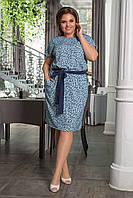 """Платье больших размеров """" Евро бенгалин """" Dress Code, фото 1"""