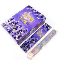 Life Lavender (Лаванда)(Darshan)(12/уп) прямоугольник , Благовония и аксессуары