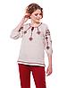 """Блуза з вишивкою натуральний льон """"Іванна"""" розміри в наявності"""