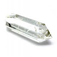 Двухголовый кристалл горного хрусталя (+-7х1 см) , Изделия из хрусталя