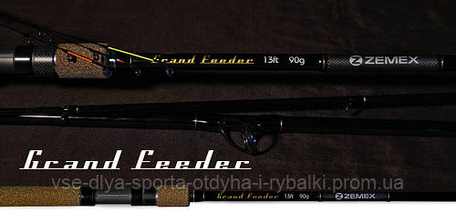 Удилище фидерное ZEMEX GRAND FEEDER 12 ft до 120,0 гр.