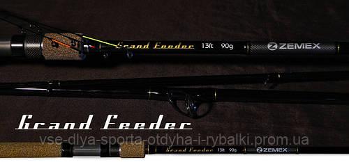Удилище фидерное ZEMEX GRAND FEEDER 13 ft до 120,0 гр.