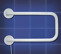 Полотенцесушитель электрический поворотный ПСП-3 белый, 20Вт