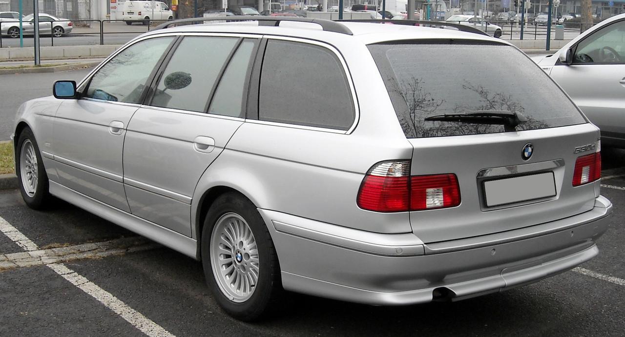 Заднее стекло (ляда) BMW 5 (E39) (1995-2004), Комби, с антенной для радио, с местом под стоп-сигнал