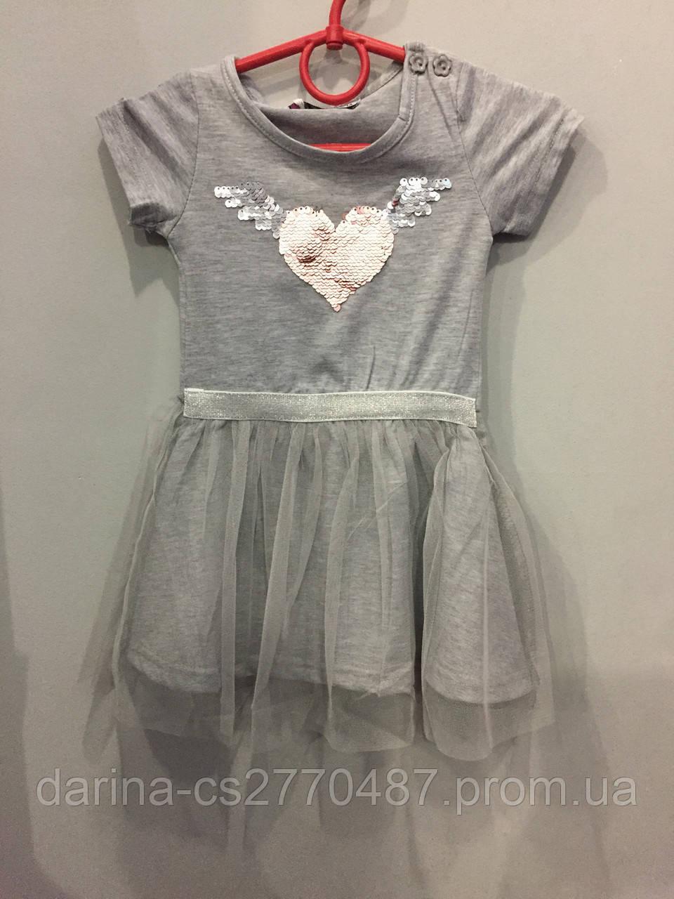 Детское платье для девочки 1,2,3 г