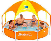 Каркасные ( сборно-разборные) бассейны Bestway Splash-in-Shade Play Pool 56193\56432, 244х51 см.