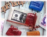"""Набор мыла """"Кошелек и пачка денег"""", фото 1"""