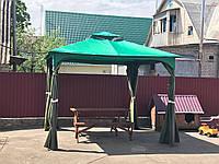 Изготовление тентов на уличные беседки, палатки. Создаём эстетику не нарушая гармонии конструкции.