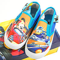 Кеды Микки и веселые гонки /Mickey Roadster Racers для мальчиков (р. 24-29) ТМ ARDITEX WD11895