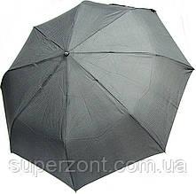 Мужской зонт полуавтоматический Doppler 730167-8 серый антиветер
