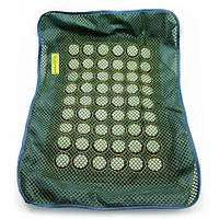 Массажный чехол на подушку с круглыми нефритовыми вставками (51х38 см) , Массажеры и изделия из нефрита
