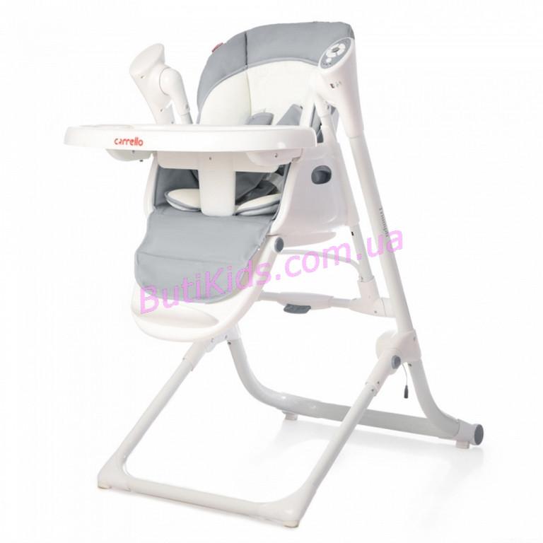 Детский стульчик для кормления CARRELLO Triumph / Grey/ Cloud Grey