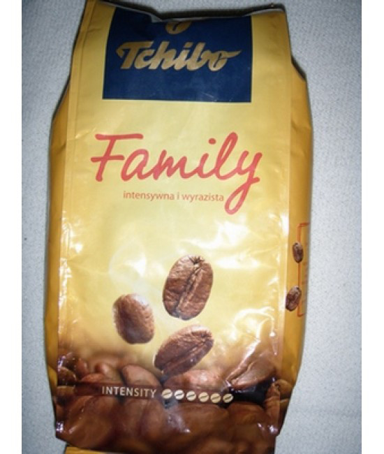 Кофе молотый Tchibo Family intensity 450гр