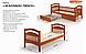 Кровать Жасмин Люкс от Мебигранд, фото 3